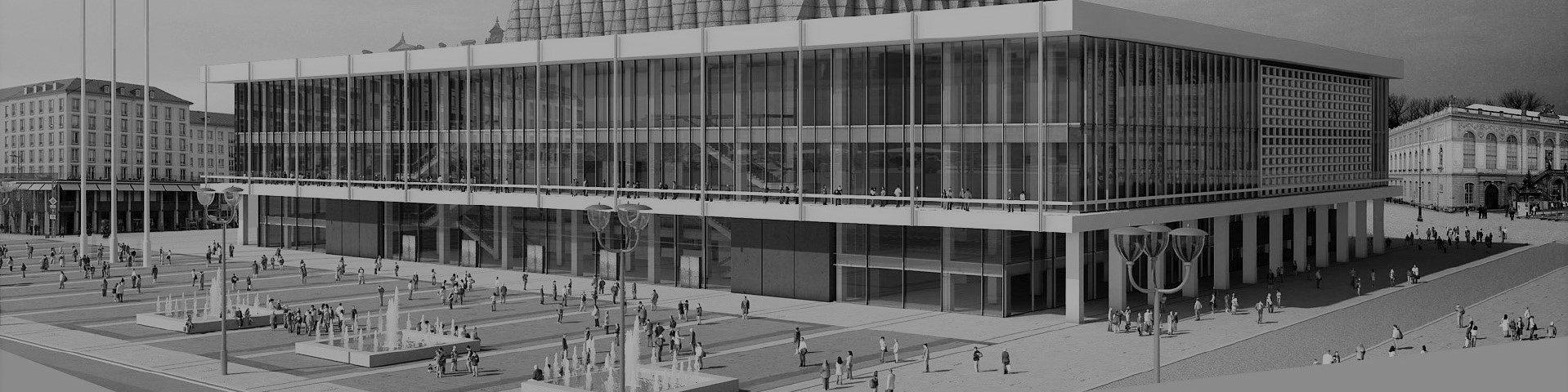 Kulturpalast Dresden | Architektur als Auftrag