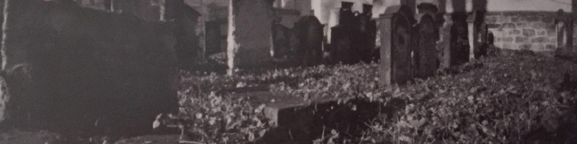 Mit der Kamera Obscura auf den Alten Jüdischen Friedhof