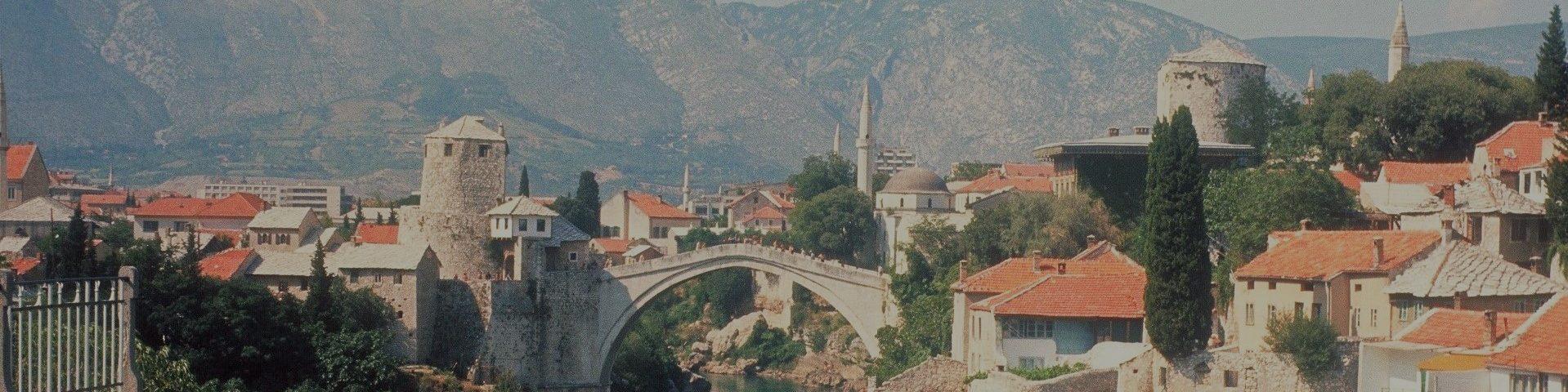 Die Brücke über der Drina | Krieg und Frieden in Mostar