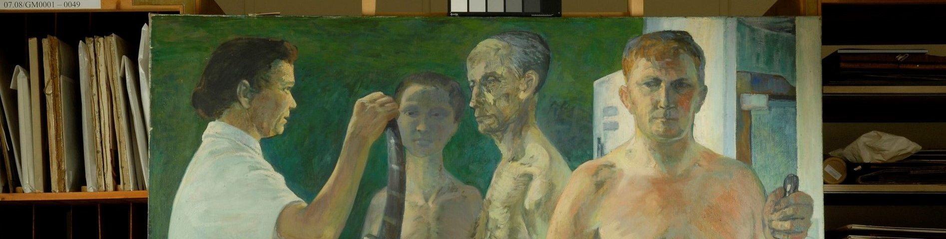 Vor der Kunst | Malerei in der Kunsthochschule Dresden von 1950 bis 1990